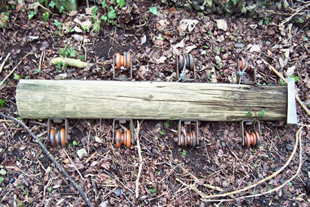 disused shackle insulators