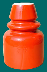 lovely Red Terminator insulator
